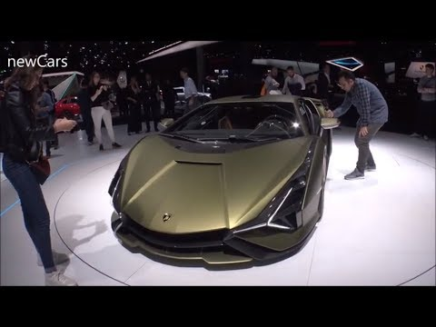 The Lamborghini cars 2020  - Show Room Germany