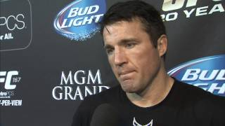 UFC 167: Chael Sonnen's advanced striking technique
