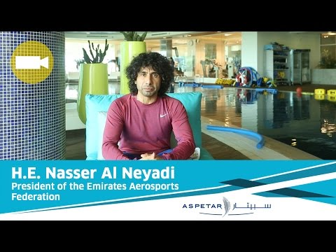 H.E. Nasser Al Neyadi, President of the Emirates Aerosports Federation