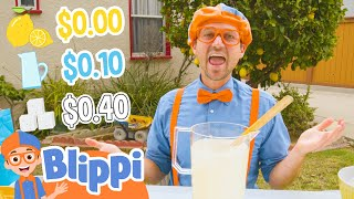 Learning Numbers and Making Lemonade With Blippi | Educational Videos For Kids