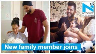 Suresh Raina and wife Priyanka blessed with baby boy..