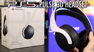 PS5 Pulse 3D Wireless Headset Unboxing: Chat Audio, Comfort, Sound, First Look Impressions!
