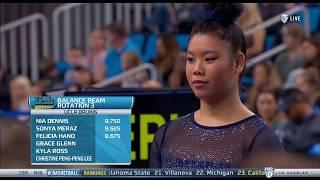 Grace Glenn (UCLA) - Balance Beam (9.725) - Ohio State at UCLA 2018