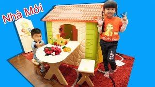BÉ BÚN CÓ NHÀ MỚI ♥ BÉ BẮP – CreativeKids ♥ Build Playhouses for children