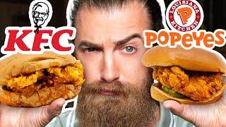 KFC vs. Popeyes Taste Test | FOOD FEUDS