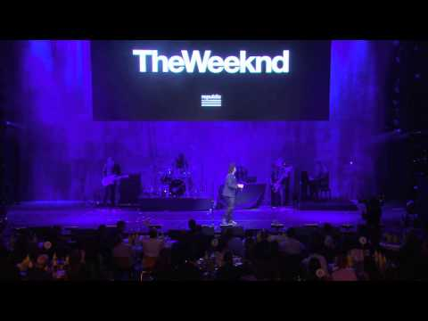 The Weeknd - Earned It (Pre-Grammy Live)