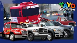 Scary Tow Truck Toto l Tayo in Real Life #14 l Tayo the Little Bus