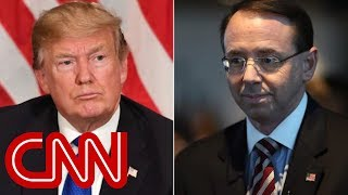 Trump meets with Rod Rosenstein