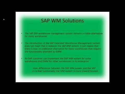 BEST SAP EWM ONLINE TRAINING @Proexcellency