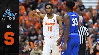 Buffalo vs. Syracuse Basketball Highlights (2017-18)