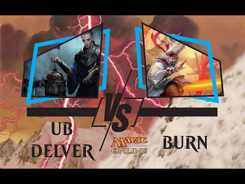 [UB Delver] Cards Realm Pauper Series 1.04 Round 5 vs Burn