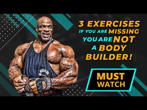 Watch Bodybuilding Exercises That Will Build Your Body