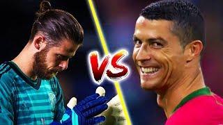 Cristiano Ronaldo ● Vs David De Gea - All Goals - 2010_2018