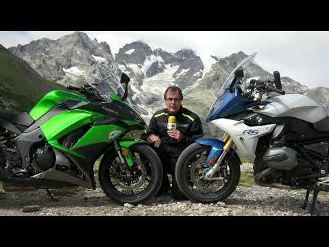 Motosx1000: Comparativa Kawasaki Z1000SX Vs. BMW R1200RS