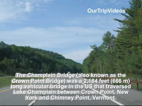 Pictures of Crown Pt (NY) to Chimney Pt (VT) Crossing Free Ferry, USA