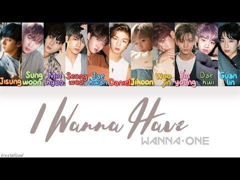 Wanna One (워너원) - 갖고 싶어 (I Wanna Have) [HAN ROM ENG Color Coded Lyrics]