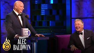 Jeff Ross Takes a Jab at Alec Baldwin's Trump Impression - Roast of Alec Baldwin