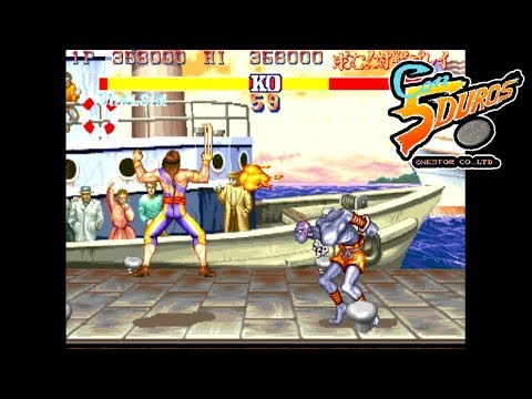 "STREET FIGHTER 2' M4 - ""CON 5 DUROS"" Episodio 617 (1cc)"