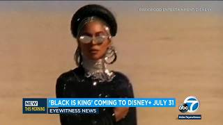 Beyonce's visual album 'Black Is King' coming exclusively to Disney+ in July