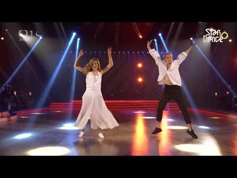 Gábina Koukalová a Martin Práger současný tanec