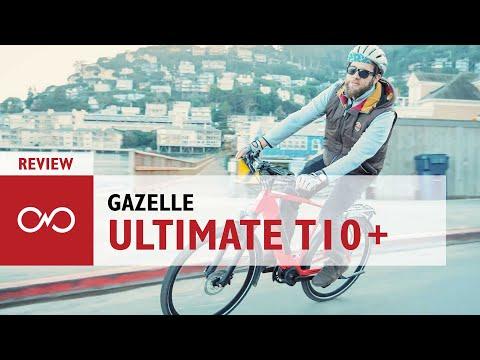 Review: Gazelle Ultimate T10+ Speed Commuter Electric Bike