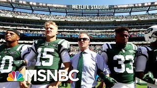 Pam Oliver: NFL Owners Are Not Afraid Of President Donald Trump | AM Joy | MSNBC
