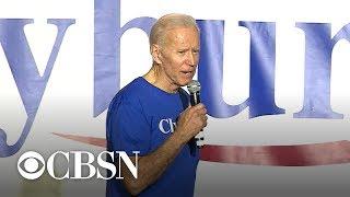 Democrats back off Biden criticism at South Carolina campaign stop