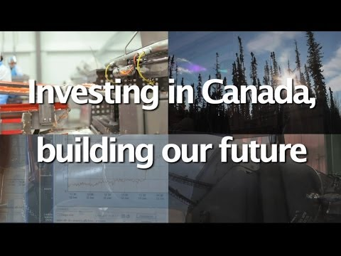 Investing in Canada, building our future