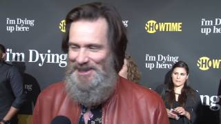 I'm Dying Up Here: Jim Carrey Exclusive Premiere Interview