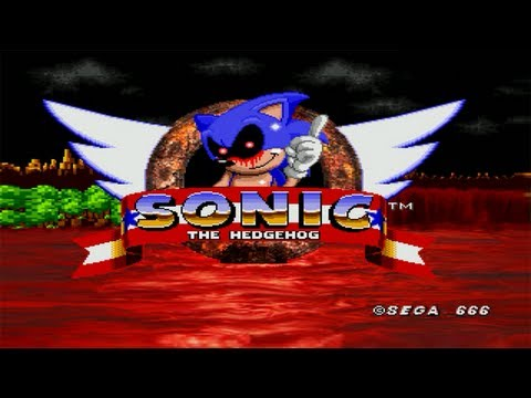 10 01 sonic exe 7 41 sonic exe takes over