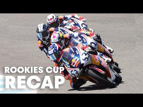 RED BULL MOTOGP ROOKIES CUP: Youngest riders meet in Jerez, Spain.
