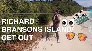 NECKER ISLAND(BEING MARY JANE)/ GET OUT | #LokkedinVlog