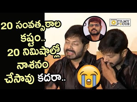 TV5 Murthy has destroyed my career, alleges emotional Kaushal Manda