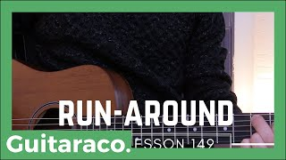 Learn to play Run-Around by Blues Traveler on Guitar in 3 Minutes!