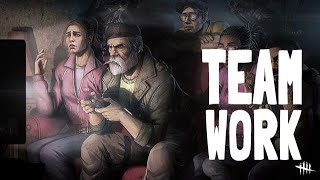 BEST TEAMWORK EVER✋| Dead by Daylight MOBILE | William Bill Overbeck