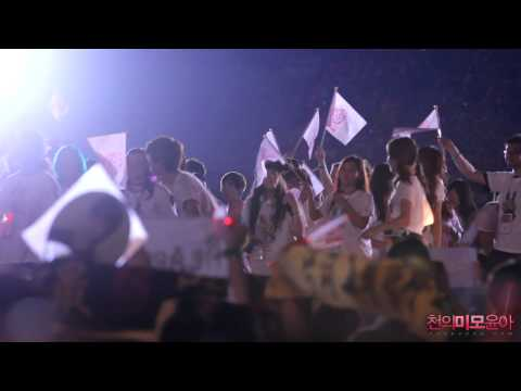 120818 SMT Seoul Ending Stage Yoona &SNSD