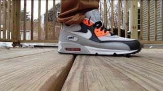 MALL STEAL: Nike Air Max 90 Review + On Feet HD YouTube