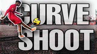 🔥(Latest)🔥 How to curve shoot on ⚽football⚽(in 🇮🇳hindi🇮🇳)