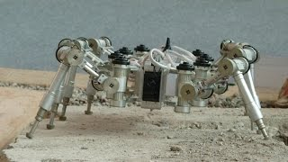 Space exploration with legged robots