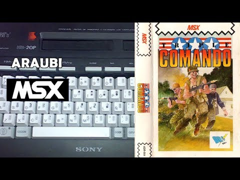 Triple Comando (Xortrapa, 1988) MSX [562] Walkthrough