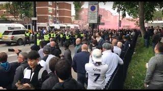 MATCH REACTION: Tottenham 2-0 Arsenal | North London Derby | Arsenal fans at Tottenham | WHL | EPL |