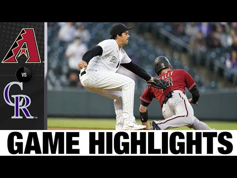 D-backs vs. Rockies Game Highlights (4/7/21) | MLB Highlights