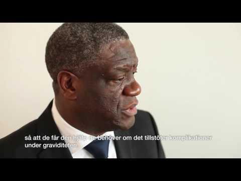 Dr Denis Mukwege om mödravård i DR Kongo