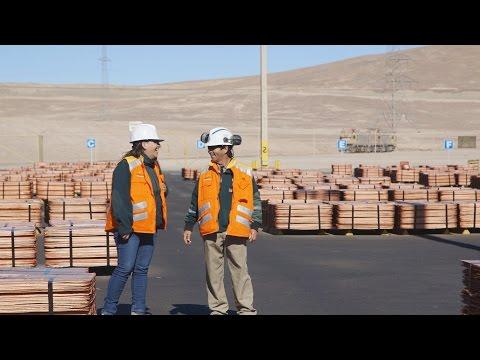 El cobre proviene desde Barrick Zaldivar para los Juegos Toronto 2015