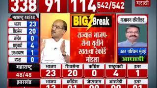 Lok Sabha Results LIVE | सध्याचा निकालावरून मोदीच पंतप्रधान होणार?-TV9