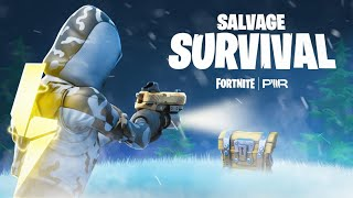 NEW Fortnite Survival Map - Salvage Survival!