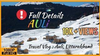 TRAVEL VLOG : Auli, Uttarakhand | Delhi, Srinagar, Rudraprayag, Devprayag, Rishikesh & Haridwar |