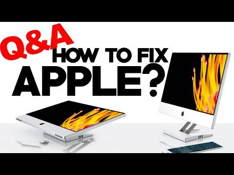 How I would fix Apple