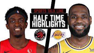 Raptors vs Lakers HIGHLIGHTS Halftime | NBA May 2