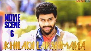 Movie Scene 6 - Khiladi Lakshmana (Lakshmana) - Hindi Dubbed Movie | Anup Revanna | Meghna Raj
